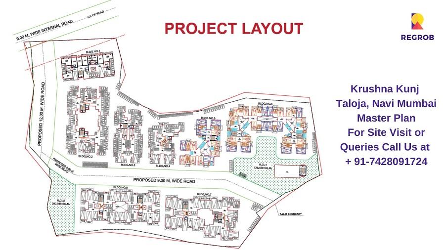 Krushna Kunj Taloja, Navi Mumbai Master Plan