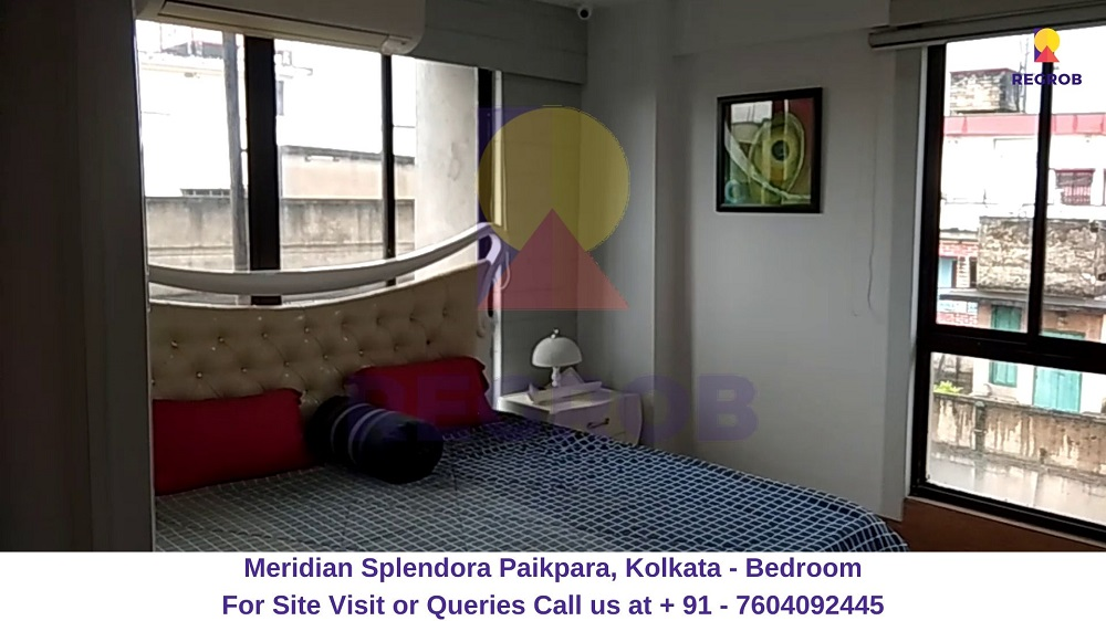 Meridian Splendora Paikpara, Kolkata Bedroom