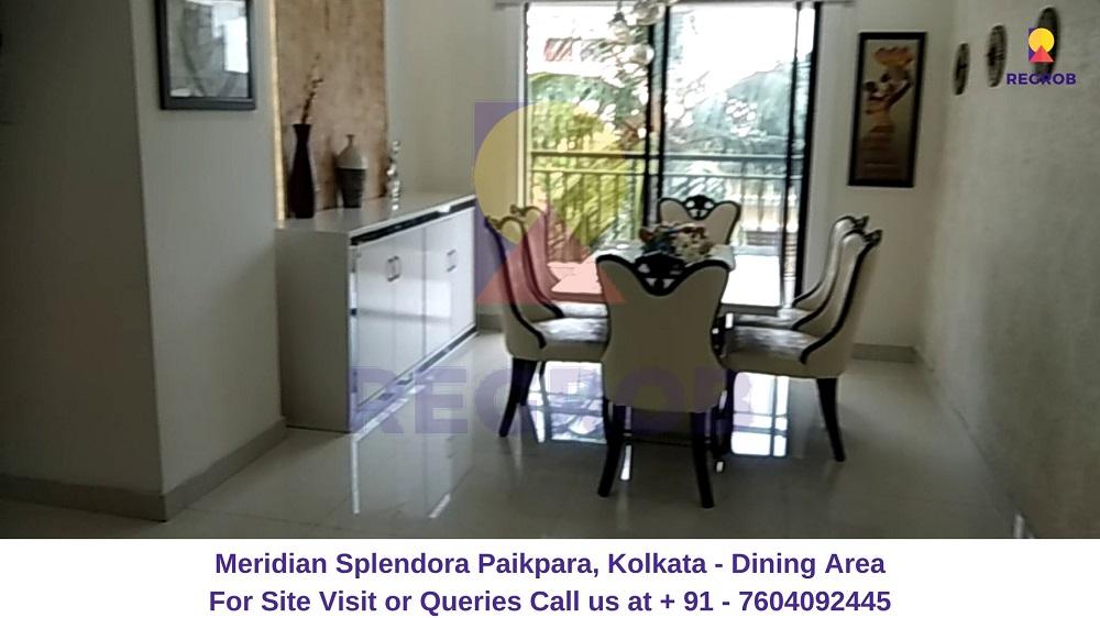 Meridian Splendora Paikpara, Kolkata Dining Area