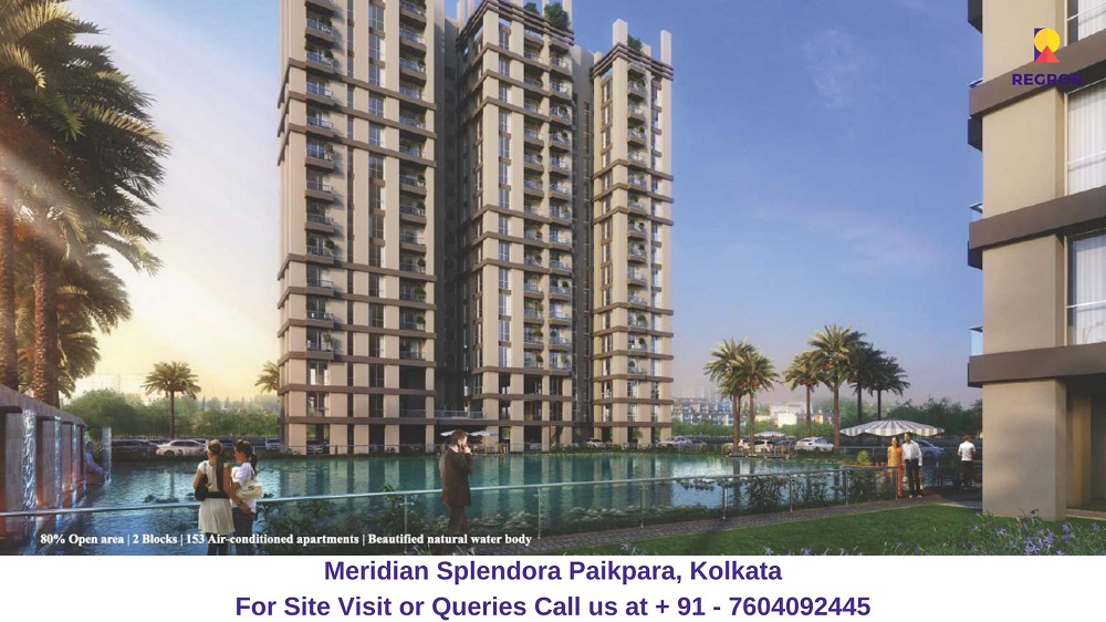 Meridian Splendora Paikpara, Kolkata Elevated View