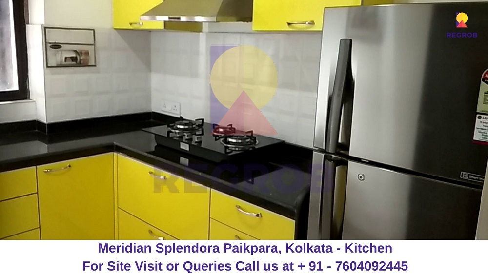 Meridian Splendora Paikpara, Kolkata Kitchen