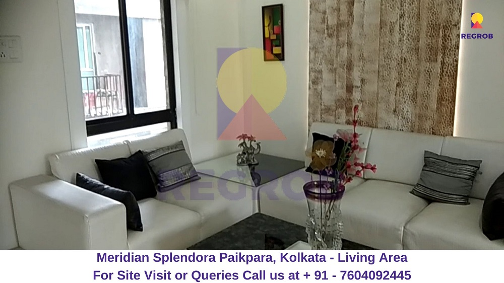 Meridian Splendora Paikpara, Kolkata Living Area