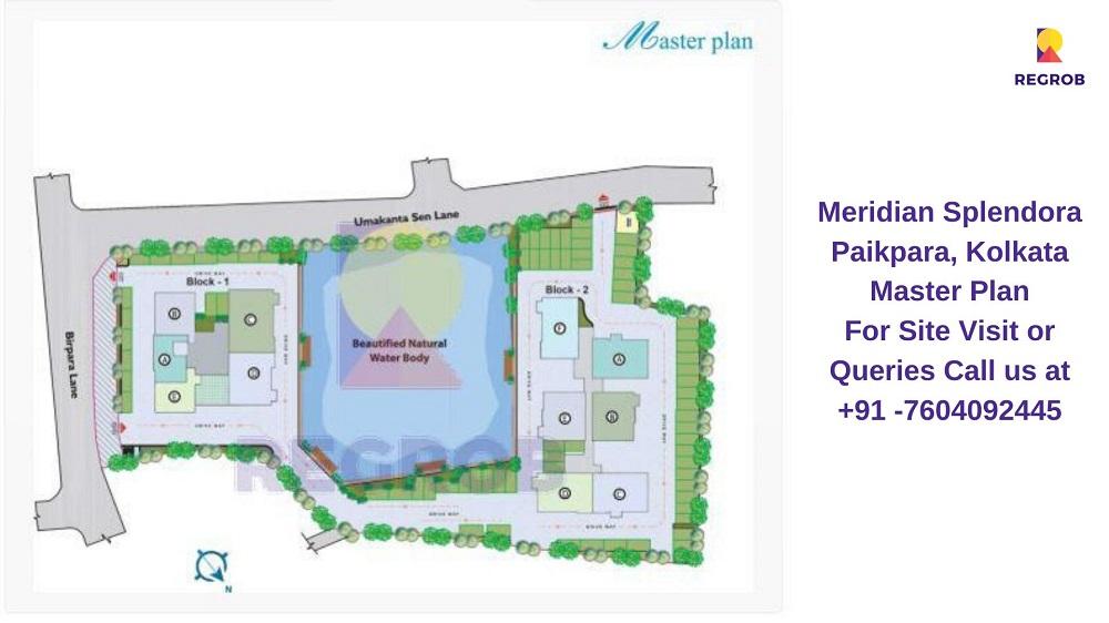 Meridian Splendora Paikpara, Kolkata Master Plan