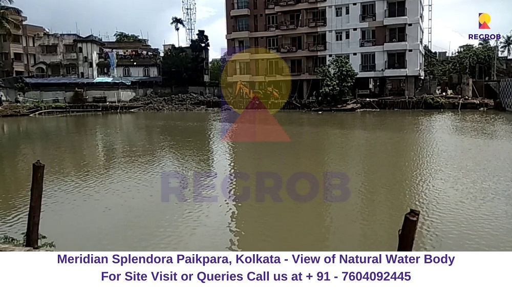 Meridian Splendora Paikpara, Kolkata View of Natural Water Body