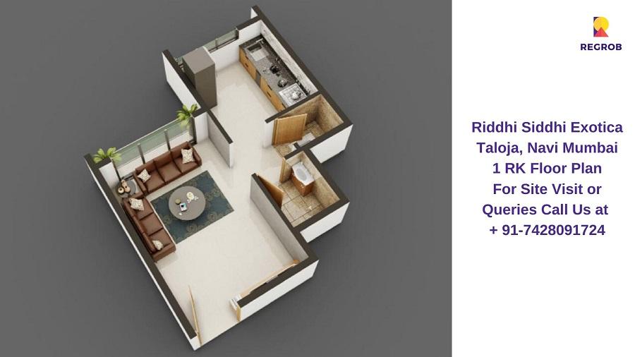 1 RK Floor Plan