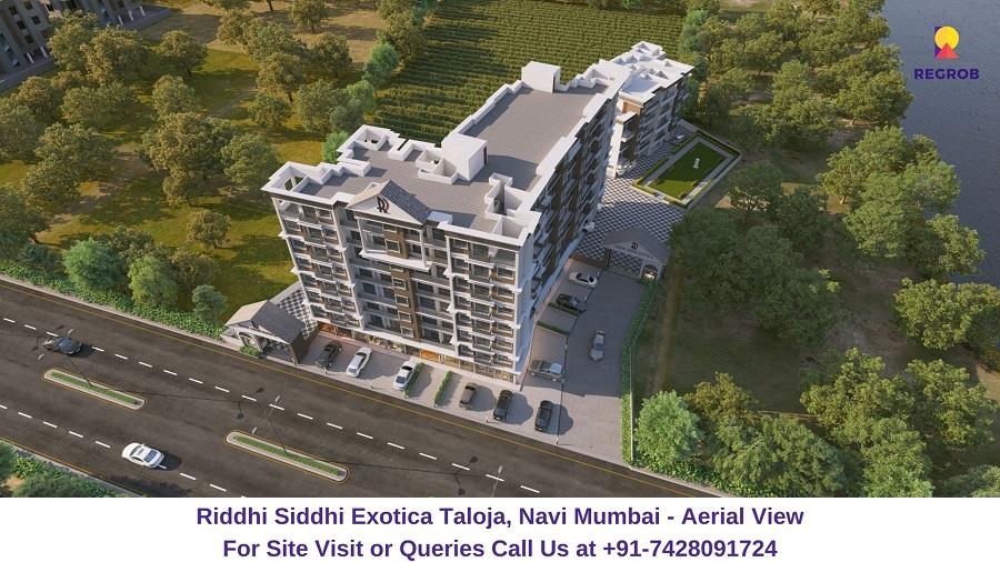 Riddhi Siddhi Exotica Taloja, Navi Mumbai Aerial View