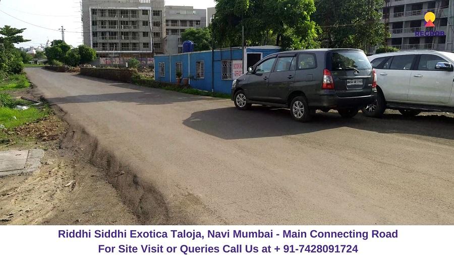 Riddhi Siddhi Exotica Taloja, Navi Mumbai Connecting Road