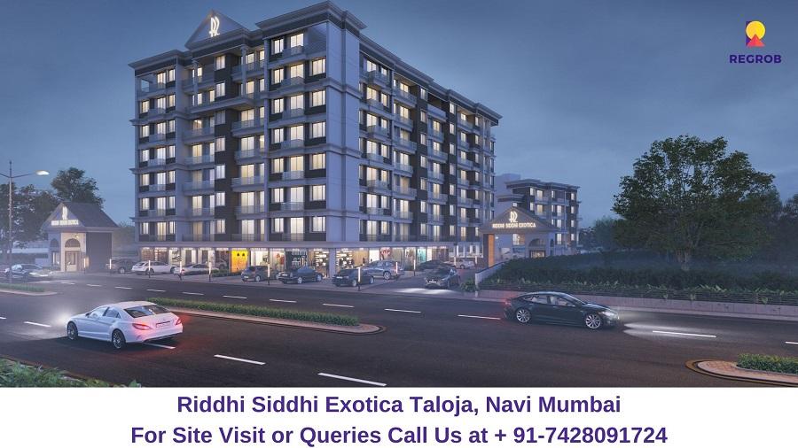 Riddhi Siddhi Exotica Taloja, Navi Mumbai Elevated View (1)