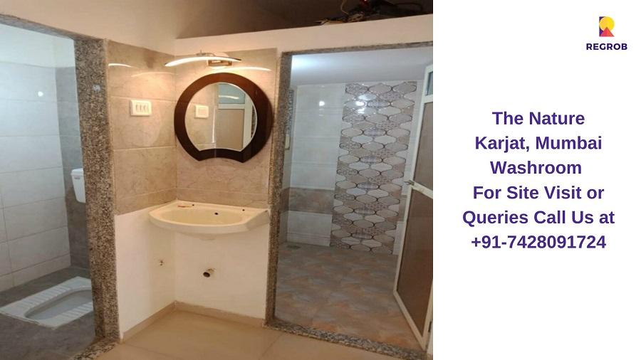 1 BHK Flat Washroom