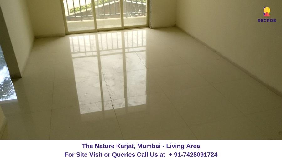 1 RK Flat Living Area