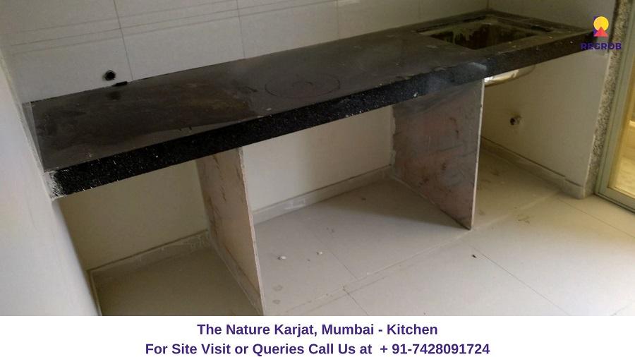 1 RK Flat Kitchen