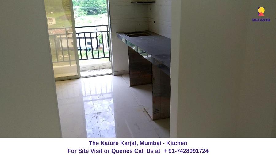 2 BHK Flat Kitchen