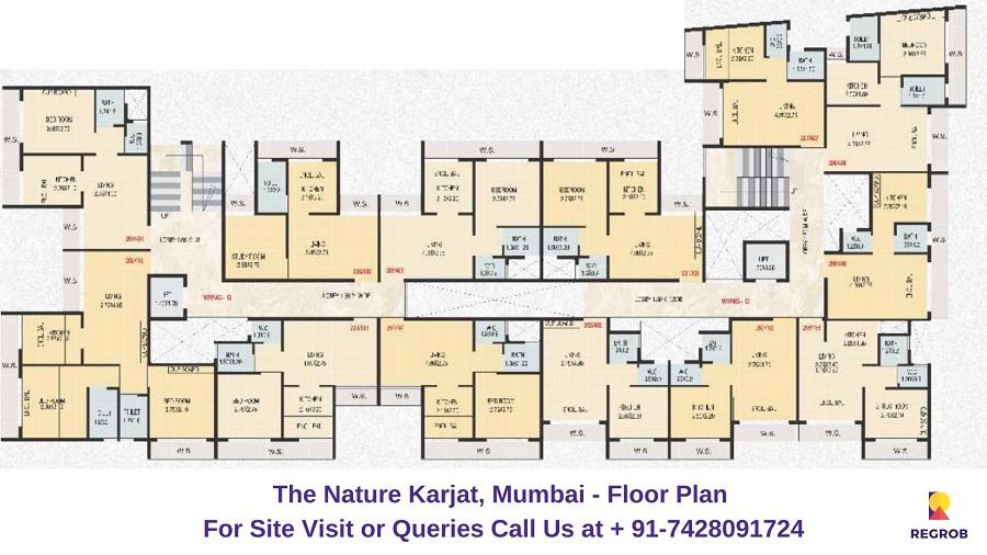 The Nature Karjat, Mumbai Floor Plan (1)