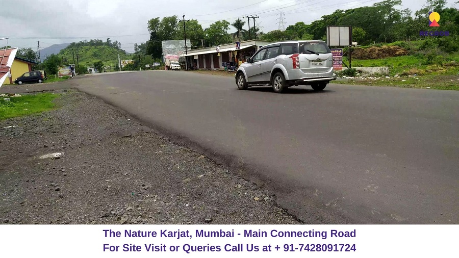 The Nature Karjat, Mumbai Main Connecting Road