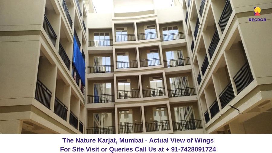 The Nature Karjat, Mumbai View of Wings A, B, C, D