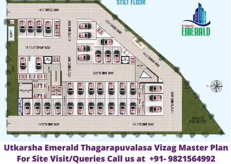 Utkarsha Emerald Visakhapatnam, Thagarapuvalasa Master Plan