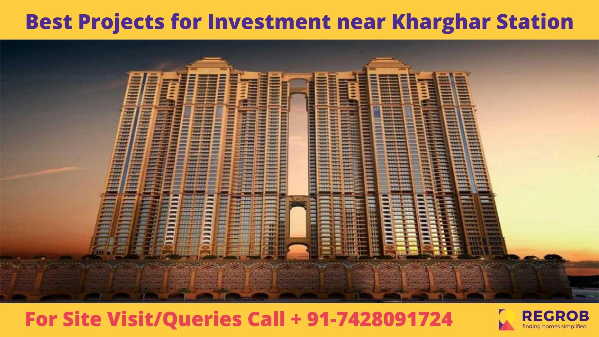 Best Projects for Investment near Kharghar Station