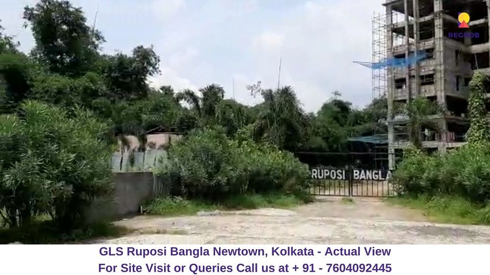 GLS Ruposi Bangla Newtown, Kolkata Actual View (1)