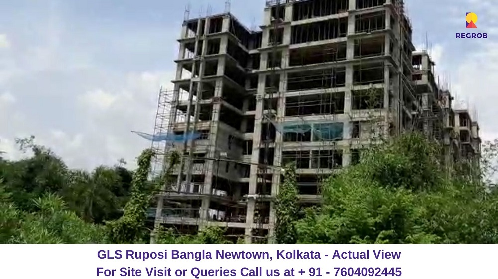 GLS Ruposi Bangla Newtown, Kolkata Actual View (2)