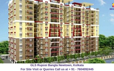 GLS Ruposi Bangla Newtown, Kolkata Elevated View
