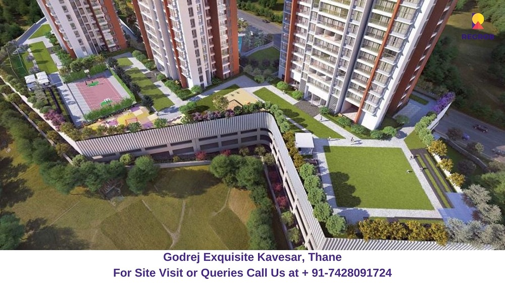 Godrej Exquisite Kavesar, Thane (3)
