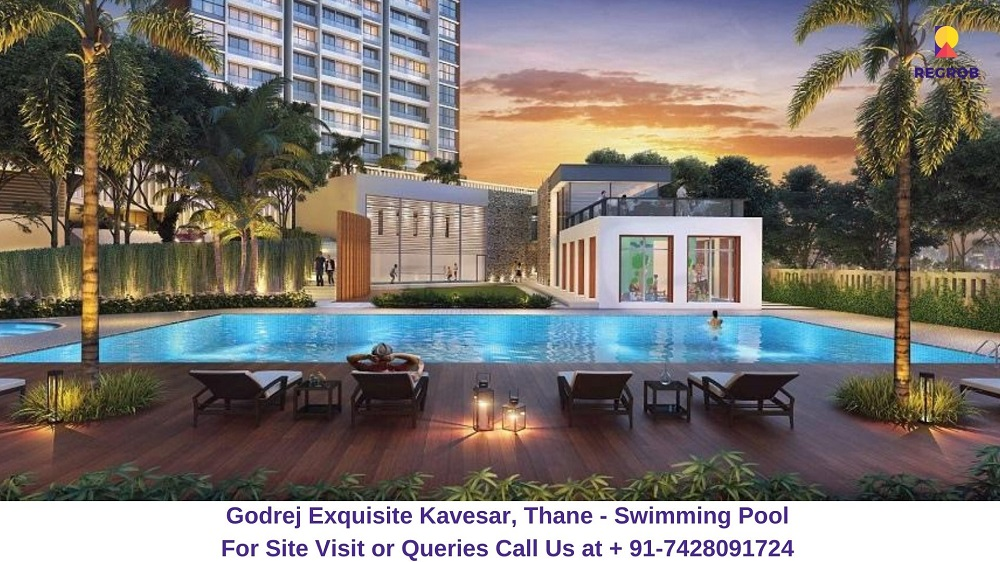 Godrej Exquisite Kavesar, Thane Swimming Pool