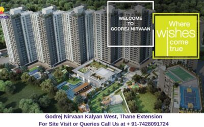 Godrej Nirvaan Kalyan West, Thane Extension Elevated View (1)
