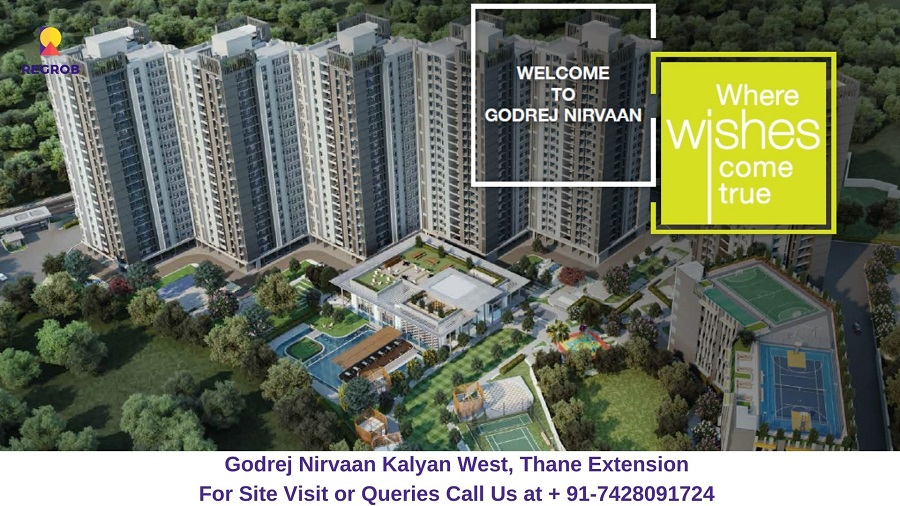 Godrej Nirvaan Kalyan West, Thane Extension Elevated View (1)