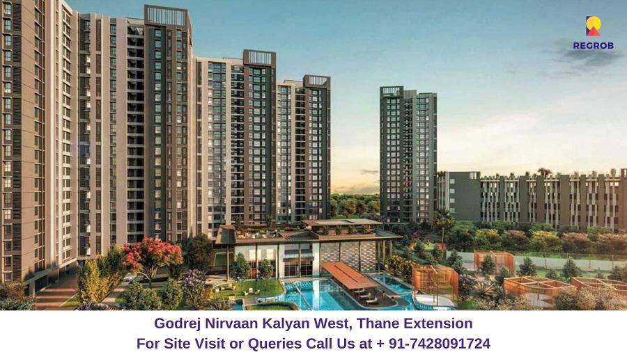 Godrej Nirvaan Kalyan West, Thane Extension Elevated View (2)
