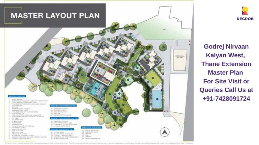 Godrej Nirvaan Kalyan West, Thane Extension Master Plan