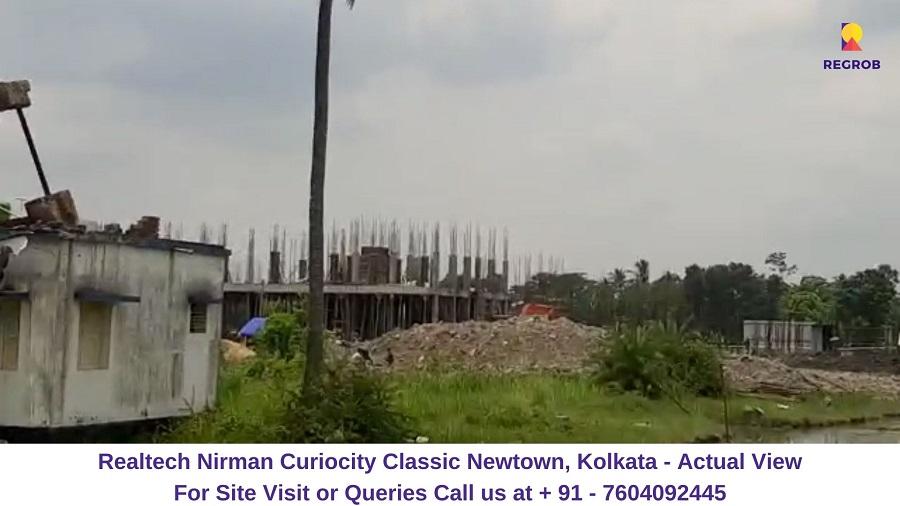Realtech CurioCity Classic Newtown, Kolkata Actual View (1)