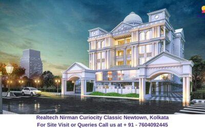 Realtech CurioCity Classic Newtown, Kolkata Elevated View (1)