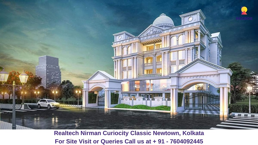 Realtech CurioCity Classic Newtown, Kolkata Elevated View (1)
