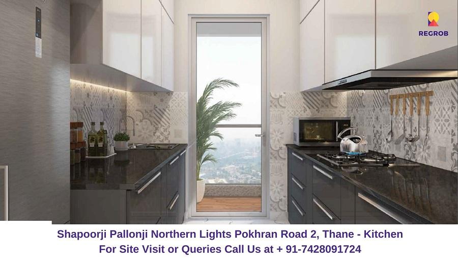 Shapoorji Pallonji Northern Lights Pokhran Road 2, Thane Kitchen