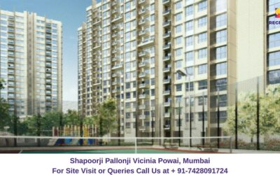 Shapoorji Pallonji Vicinia Powai, Mumbai Elevated View