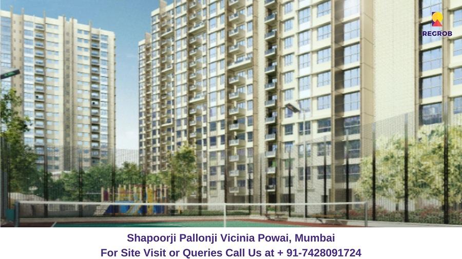 Shapoorji Pallonji Vicinia Powai, Mumbai Elevated View