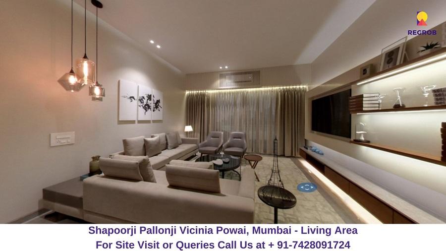 Shapoorji Pallonji Vicinia Powai, Mumbai Living Area