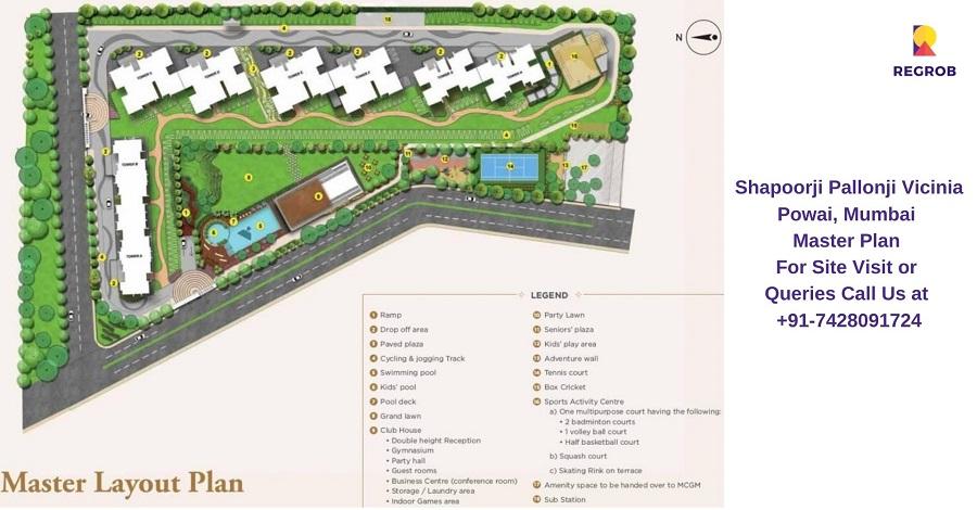 Shapoorji Pallonji Vicinia Powai, Mumbai Master Plan