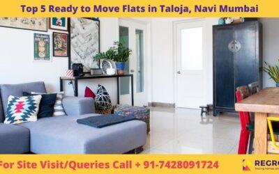 Top 5 Ready to Move Flats in Taloja, Navi Mumbai