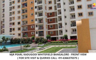MJR Pearl Kadugodi Whitefield Bangalore