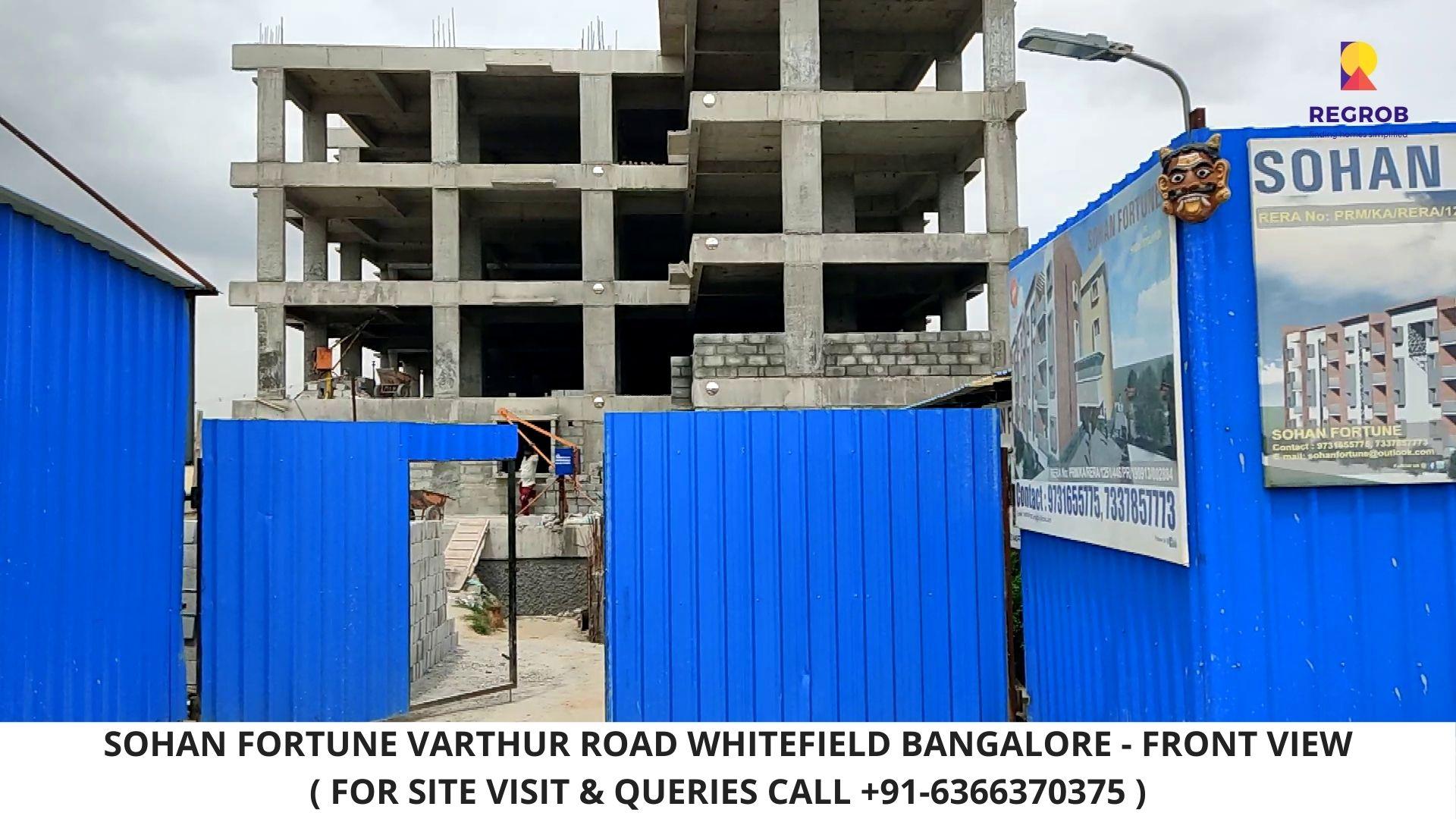 Sohan fortune Varthur Road Whitefield Bangalore