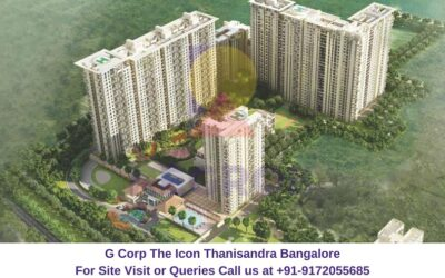 G Corp The Icon Thanisandra Bangalore