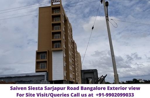 Saiven Siesta Bangalore Exrerior View