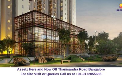 Assetz Here and Now Off Thanisandra Road Bangalore