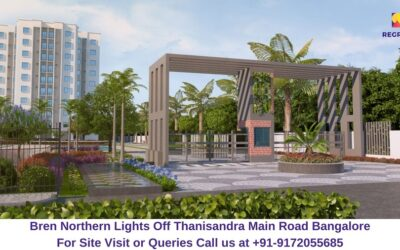Bren Northern Lights Off Thanisandra Main Road Bangalore