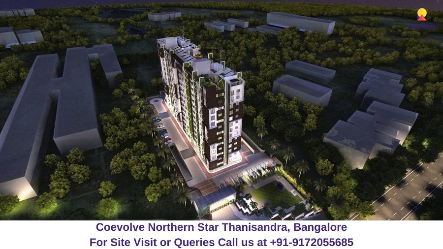 Coevolve Northern Star Thanisandra, Bangalore