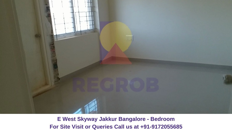 E West Skyway Jakkur Bangalore Bedroom