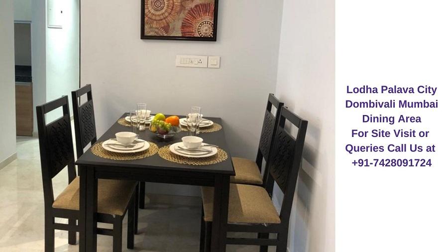 Lodha Palava City Mumbai Dining Area (2)
