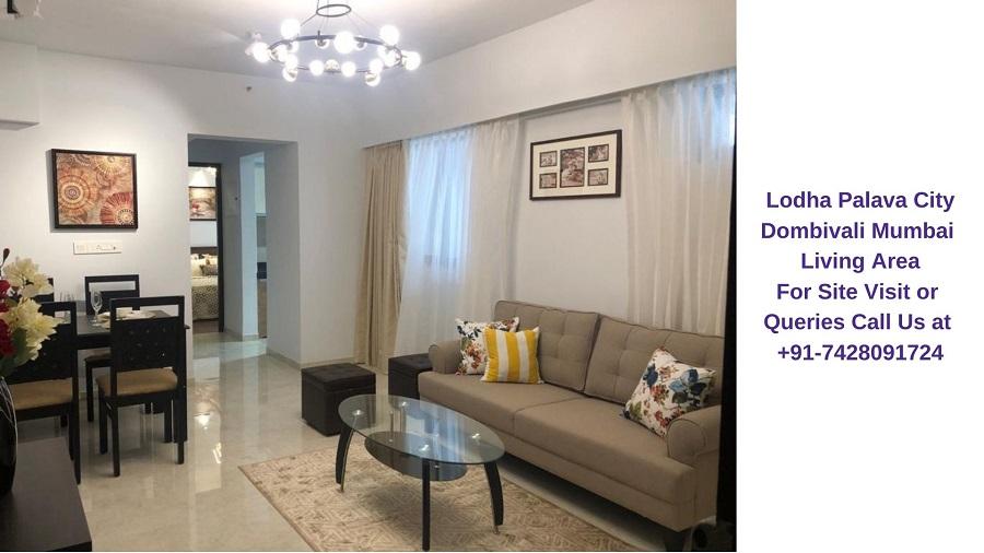 Lodha Palava City Mumbai Living Area (1)