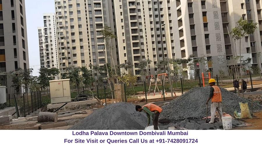 Lodha Palava Downtown Mumbai Actual View of Project (1)